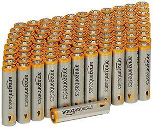 Barato AmazonBasics - Paquete de 100 pilas alcalinas AAA antes de compra