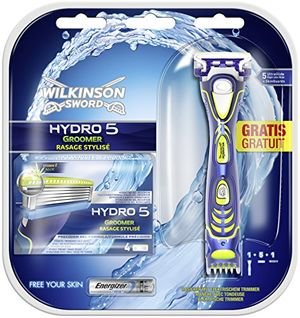 Wilkinson Sword Hydro 5 Groomer - Paquete Convenience con 5 hojas de afeitar Con Descuento