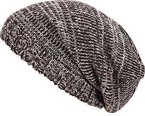 Cheap beanie wunderschöne strickmütze für sie und ihn wunderschönes melange muster wintermütze unisex skimütze wintermütze braun