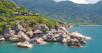【Mr. Rich 理查先生】越南寧凡灣六善酒店 Six Senses Ninh Van Bay ,海灣上的私人天堂