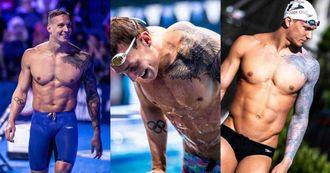 2020東京奧運最帥是誰?美國泳將「Caeleb Dressel」全球女性都在討論!邪惡肌肉+刺青誰會拒絕?