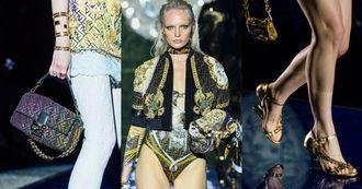 Fendi、Versace破天荒合體!Peekaboo、Baguette經典包再換裝,兩大品牌首次聯名真的太精彩啦!