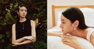 Mikimoto珍珠簡單搭就時髦!Bra Top、西裝外套、一件式洋裝…從日常造型傳遞無性別美學