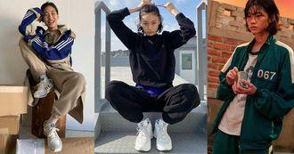 《魷魚遊戲》鄭浩妍爆紅!IG私服照其實是「Adidas運動服控」,4套棉褲、衛衣LOOK教你穿出名模感!