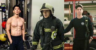 《火神的眼淚》獲封2021年最強職人劇!林柏宏增重10公斤化身健壯消防員,「這個細節」連導演蔡銀娟也狂讚!