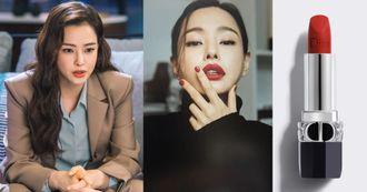 《One The Woman雙重人生》李荷妮唇膏色號公開!30歲女人必買Dior唇膏TOP8,台灣爆賣辣椒唇是它