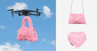 Balenciaga七夕愛心包超可愛!小賈太太狂愛「沙漏包」換上泰迪熊絨毛裝怎麼能不愛?