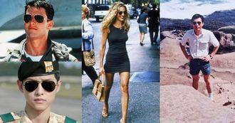 【克編雜記】「雷朋」時尚人必備墨鏡!從《慾望城市》凱莉、《太陽的後裔》宋仲基到克編爸,各世代不退流行的帥氣經典
