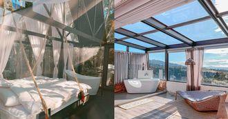 全台TOP7夢幻玻璃屋民宿,躺在床上看星空,來跟大自然融為一體吧!