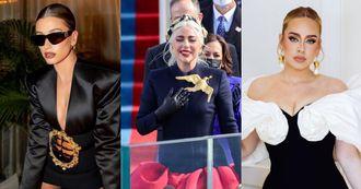【10Why個為什麼】Schiaparelli紅什麼?金奶頭、假腹肌稱霸紅毯?Lady Gaga、Hailey Bieber到愛黛兒都狂愛