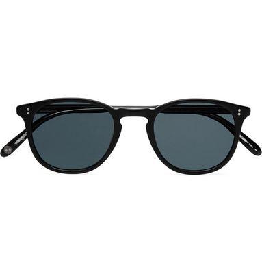 Garrett Leight California Optical - Kinney 47 Square-frame Acetate Sunglasses - Gray