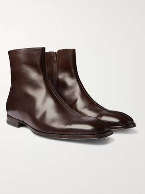Paul Smith - Reeves Leather Chelsea Boots - Brown