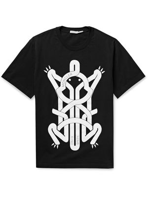 MONCLER GENIUS - 5 Moncler Craig Green Printed Cotton-Jersey T-Shirt - Men - Black - M
