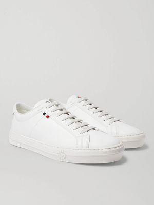 Moncler - Monaco Leather Sneakers - Men - White