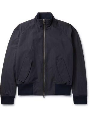 Studio Nicholson - Moburg Cotton-Blend Bomber Jacket - Men - Blue