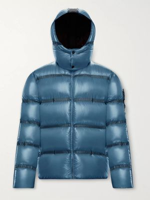 Moncler Genius - 5 Moncler Craig Green Ramis Quilted Shell Hooded Down Jacket - Men - Blue
