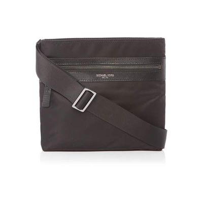 Michael Kors Kent Nylon Small Cross Body Bag, Black