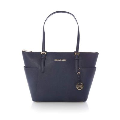Michael Kors Jetset item top zip tote bag, Blue
