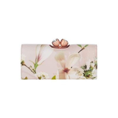 Ted Baker Caryl harmony crystal top flapover purse, Light Pink