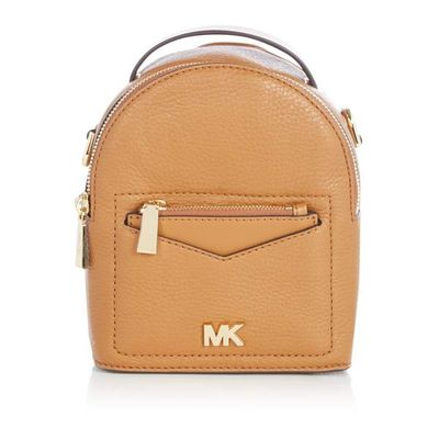 Michael Kors Jessa XS covertible backpack bag, Tan