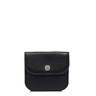 Radley Coleman street small flapover coin purse, Black