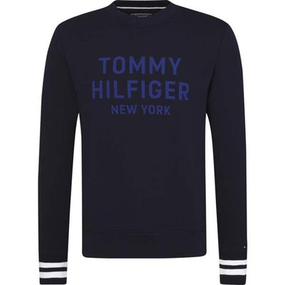 Men's Tommy Hilfiger Contrast Graphic Sweatshirt, Blue