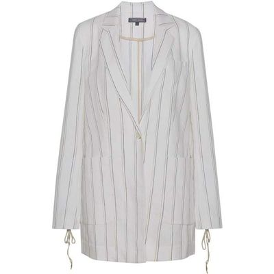 Tommy Hilfiger Juliet Long Blazer, White