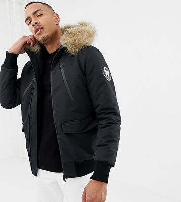 Good For Nothing parka jacket in black exclusive to ASOS - Black