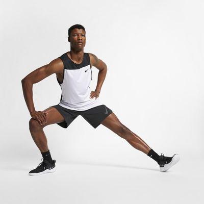 Nike Pro Men's Tank - White