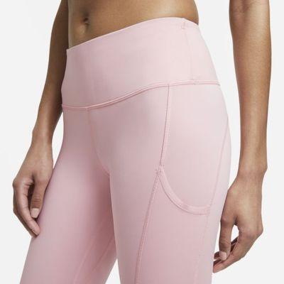Nike Epic Luxe Women's Running Crop Leggings - Pink