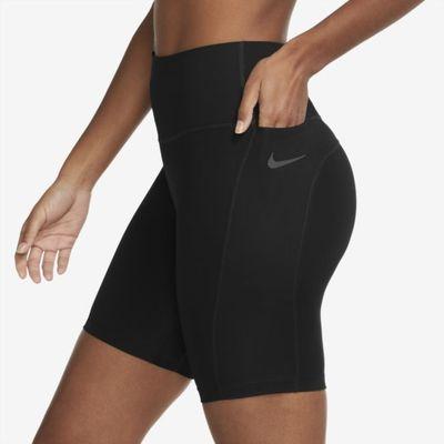 Nike Dri-FIT Fast Women's 18cm (approx.) Mid-Rise Running Shorts - Black