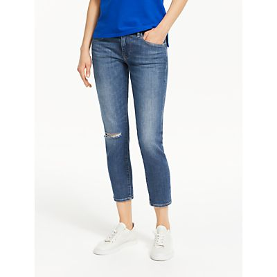 Polo Ralph Lauren Tompkins Cropped Skinny Jeans, Amaya Wash