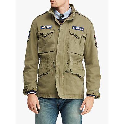 Polo Ralph Lauren Combat Lined Jacket, Olive