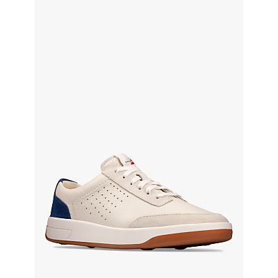 Clarks Hero Air Lace Up Leather Trainers