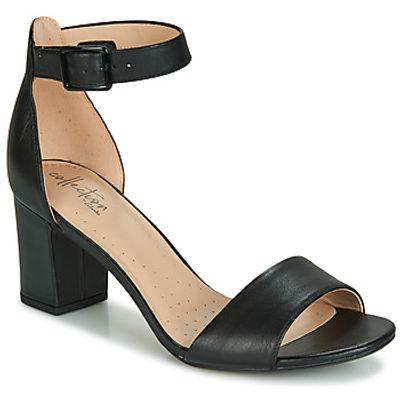 Clarks  DEVA MAE  women's Sandals in Black