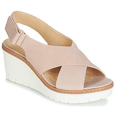 Clarks  PALM CANDID  women's Sandals in Beige