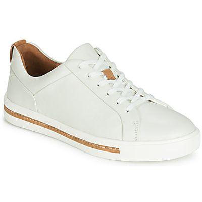 Clarks  UN MAUI LACE  women's Shoes (Trainers) in White