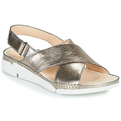 Clarks  Tri Alexia  women's Sandals in Silver