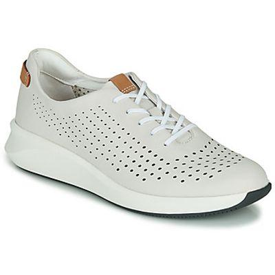 Clarks  UN RIO TIE  women's Shoes (Trainers) in White