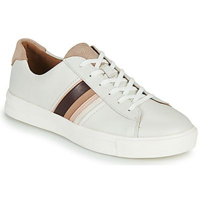 Clarks  UN MAUI BAND  women's Shoes (Trainers) in White