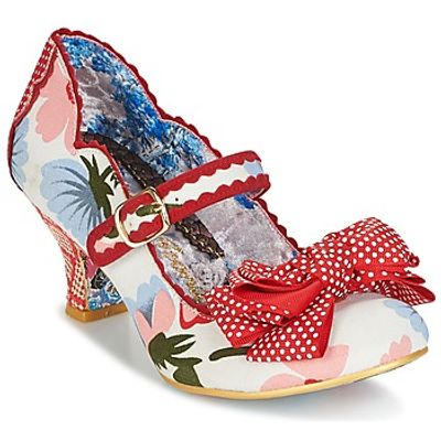 Irregular Choice  BALMY NIGHTS  women's Court Shoes in Red
