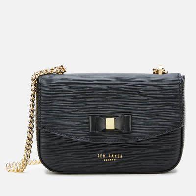 Ted Baker Women's Daissy Bow Mini Shoulder Bag - Black