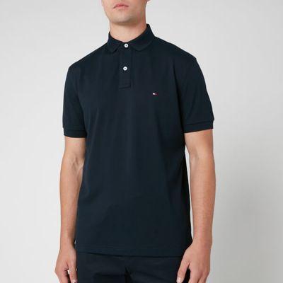 Tommy Hilfiger Men's Regular Fit Polo Shirt - Sky Captain