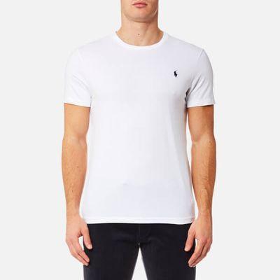 Polo Ralph Lauren Men's Custom Fit Crew Neck T-Shirt - White