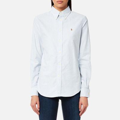 Polo Ralph Lauren Women's Harpeer Shirt - Blue/White