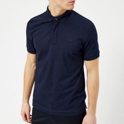 Lacoste Men's Short Sleeve Paris Polo Shirt - Navy