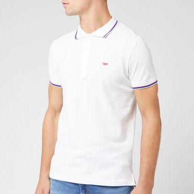 Diesel Men's Randy New Polo Shirt - White