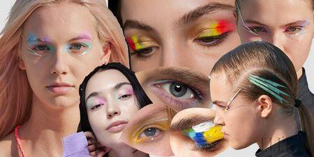 """Αυτή είναι με διαφορά η πιο """"in"""" πρόταση της πασαρέλας για το καλοκαιρινό μακιγιάζ #ColorfulEyeMakeup"""