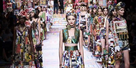 To show του οίκου Dolce & Gabbana στην Εβδομάδα Μόδας του Μιλάνου