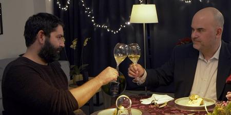 Ο Ted Λέλεκας με τον καταξιωμένο chef Μιχάλη Νουρλόγλου δημιουργούν ένα εορταστικό τραπέζι με τη συνοδεία της Veuve Clicquot